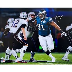 Fletcher Cox Signed Philadelphia Eagles 16x20 Photo (Fanatics Hologram)