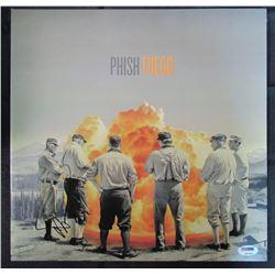 """Trey Anastasio Signed Phish """"Fuego"""" LP Vinyl Record Album (PSA COA)"""
