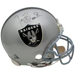 Tim Brown Signed Raiders Full Size Authentic On-Field Helmet (Beckett COA)