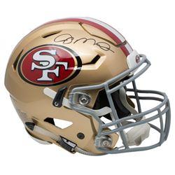 Joe Montana Signed 49ers Full-Size Authentic On-Field SpeedFlex Helmet (JSA COA)