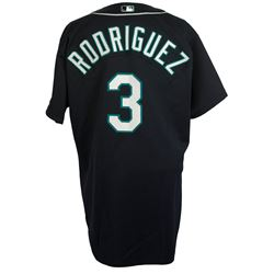 Alex Rodriguez Game-Used Seattle Mariners Russell Athletic Jersey (Mears LOA)