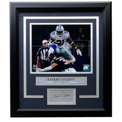 Ezekiel Elliott Dallas Cowboys 11x14 Custom Framed Photo Display
