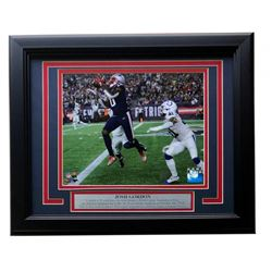 Josh Gordon New England Patriots 11x14 Custom Framed Photo Display