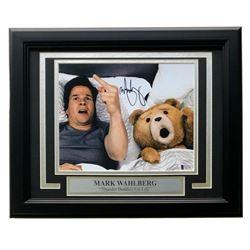 "Mark Wahlberg Signed ""Ted"" 11x14 Custom Framed Photo Display (Beckett COA)"