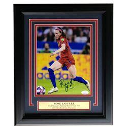 Rose Lavelle Signed Team USA 2019 FIFA World Cup Champion 11x14 Custom Framed Photo Display (JSA COA