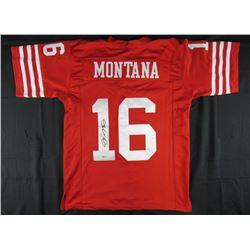 Joe Montana Signed Jersey (Beckett COA)