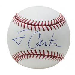Jimmy Carter Signed OML Baseball (Beckett LOA)