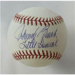 "Johnny Bench Signed OML Baseball Inscribed ""Little General"" (JSA COA)"