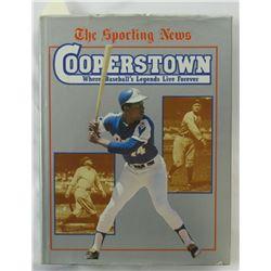 "Sandy Koufax Signed ""Cooperstown: Where Baseball's Legends Live Forever"" Hardcover Book (JSA COA)"