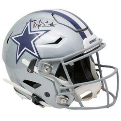 Dak Prescott Signed Cowboys Full-Size Authentic On-Field SpeedFlex Helmet (Beckett COA  Prescott Hol