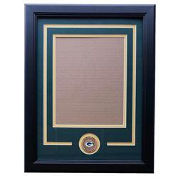 Green Bay Packers 11x14 Custom Frame Kit