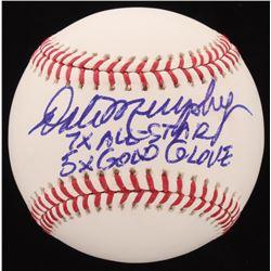 "Dale Murphy Signed OML Baseball Inscribed ""7x All-Star""  ""5x Gold Glove"" (Radtke COA)"