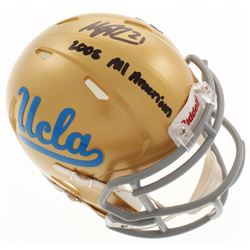 "Maurice Jones-Drew Signed UCLA Bruins Speed Mini-Helmet Inscribed ""2005 All American"" (Radtke COA)"