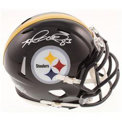 Heath Miller Signed Pittsburgh Steelers Speed Mini-Helmet (Radtke COA)