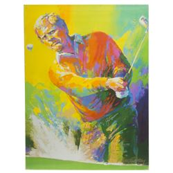 Jack Nicklaus Signed 30x40 Giclee on Stretched Canvas (Fanatics Hologram  Nicklaus Hologram)