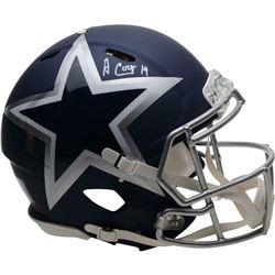Amari Cooper Signed Dallas Cowboys AMP Full-Size Authentic On-Field Speed Helmet (Fanatics Hologram)