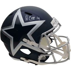 Amari Cooper Signed Dallas Cowboys AMP Full-Size Speed Helmet (Fanatics Hologram)