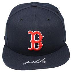J.D. Martinez Signed Boston Red Sox New Era Fitted Baseball Hat (Steiner COA)