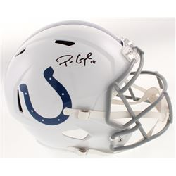 Parris Campbell Signed Indianapolis Colts Full-Size Speed Helmet (Beckett COA)