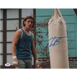 "Tanner Buchanan Signed ""Cobra Kai"" 11x14 Photo (PSA Hologram)"