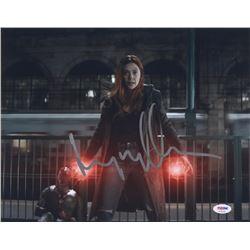 "Elizabeth Olsen Signed ""Avengers: Infinity War"" 11x14 Photo (PSA COA)"