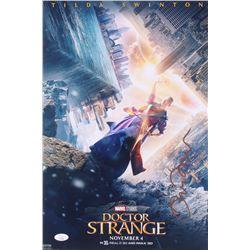 "Tilda Swinton Signed ""Doctor Strange"" 12x18 Photo (JSA COA)"