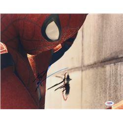 "Tom Holland Signed ""Spider-Man: Homecoming"" 11x14 Photo (PSA Hologram)"