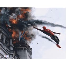 """Tom Holland Signed """"Spider-Man: Far From Home"""" 11x14 Photo (PSA Hologram)"""