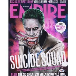 "Jared Leto Signed ""Suicide Squad"" 11x14 Photo (PSA COA)"