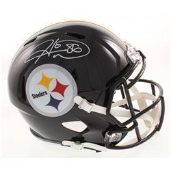 Hines Ward Signed Pittsburgh Steelers Full-Size Speed Helmet (JSA COA)