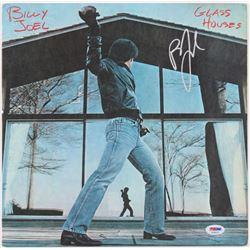 """Billy Joel Signed """"Glass Houses"""" Vinyl Album Cover (PSA COA)"""