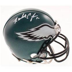 Randall Cunningham Signed Philadelphia Eagles Mini Helmet (Beckett COA)
