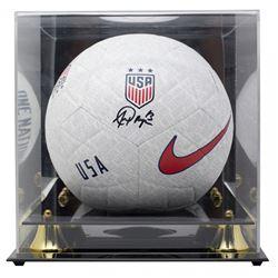 Alex Morgan Signed Team USA Logo Nike Soccer Ball with Display Case (JSA COA)