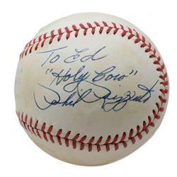 """Phil Rizzuto Signed OAL Baseball Inscribed """"Holy Cow"""" (Beckett COA)"""