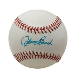 Johnny Bench Signed ONL Baseball (Beckett COA)