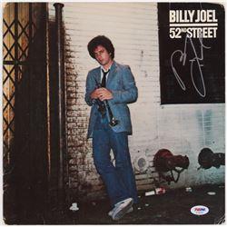 """Billy Joel Signed """"52nd Street"""" Vinyl Album Cover (PSA COA)"""