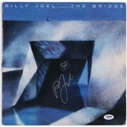 "Billy Joel Signed ""The Bridge"" Vinyl Album Cover (PSA COA)"