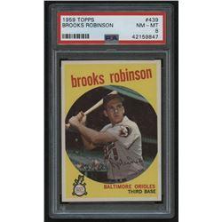1959 Topps #439 Brooks Robinson (PSA 8)