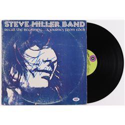 """Steve Miller Signed """"Recall the Beginning...A Journey From Eden"""" Vinyl Album Cover (PSA Hologram)"""