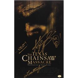 """Andrew Bryniarski Signed """"The Texas Chainsaw Massacre"""" 11x17 Photo Inscribed """"Leatherface""""  """"...Next"""