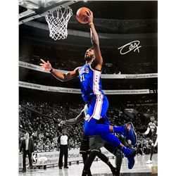 Joel Embiid Signed Philadelphia 76ers 16x20 Photo (JSA COA)