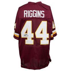 John Riggins Signed Jersey (JSA COA)