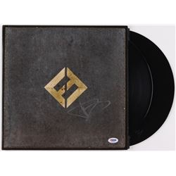 "Dave Grohl Signed ""Concrete and Gold"" Vinyl Album Cover (PSA COA)"