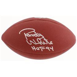 "Randy White Signed NFL Football Inscribed ""HOF 94"" (Schwartz Sports COA)"