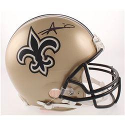 Alvin Kamara Signed New Orleans Saints Full-Size Authentic On-Field Helmet (JSA COA)