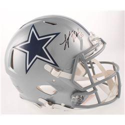Leighton Vander Esch Signed Dallas Cowboys Full-Size Authentic On-Field Speed Helmet (JSA COA)