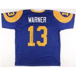 Kurt Warner Signed Jersey (JSA COA)