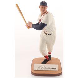 Ted Williams Signed LE Boston Red Sox Figurine (Gartlan COA)