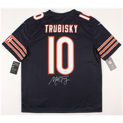 Mitch Trubisky Signed Chicago Bears Jersey (Fanatics Hologram)