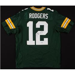 Aaron Rodgers Signed Green Bay Packers Jersey (Fanatics Hologram)
